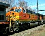 BNSF 4329 on K044